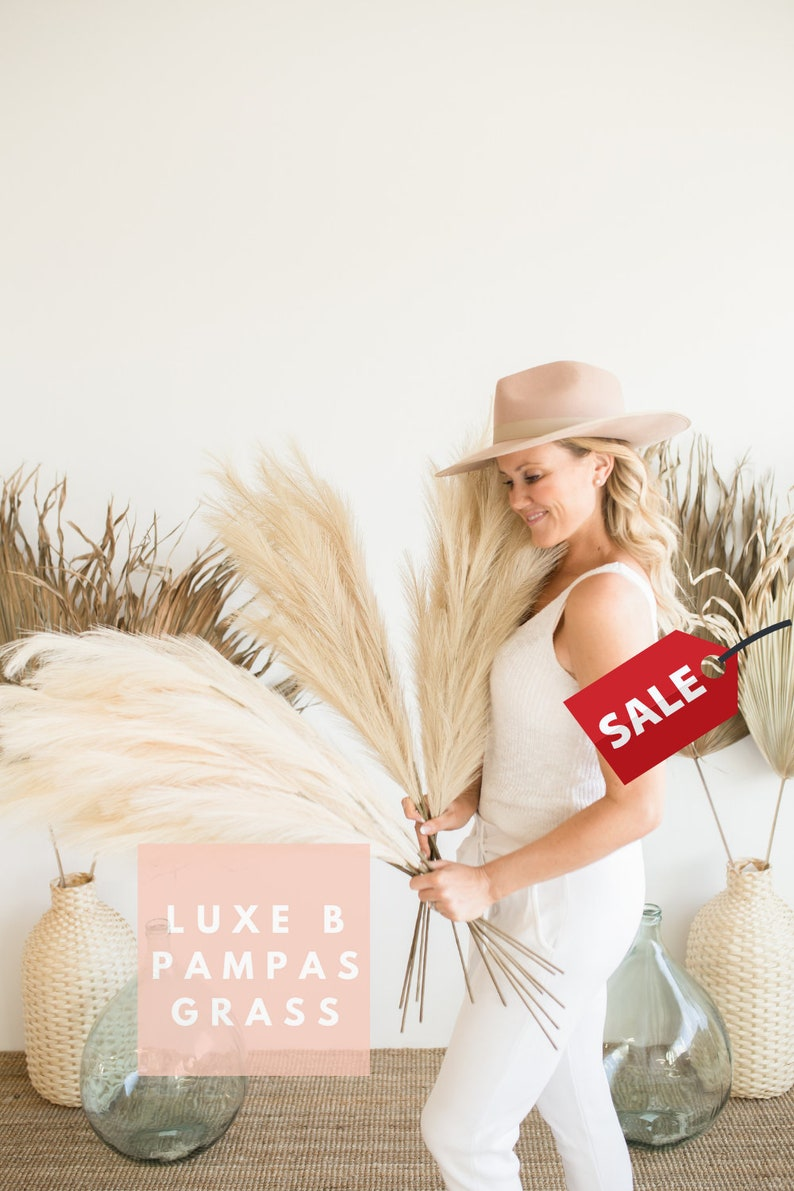 Pampas Grass Faux Artificial By Luxe B Pampas image 0