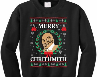 Mike tyson christmas sweater | Etsy