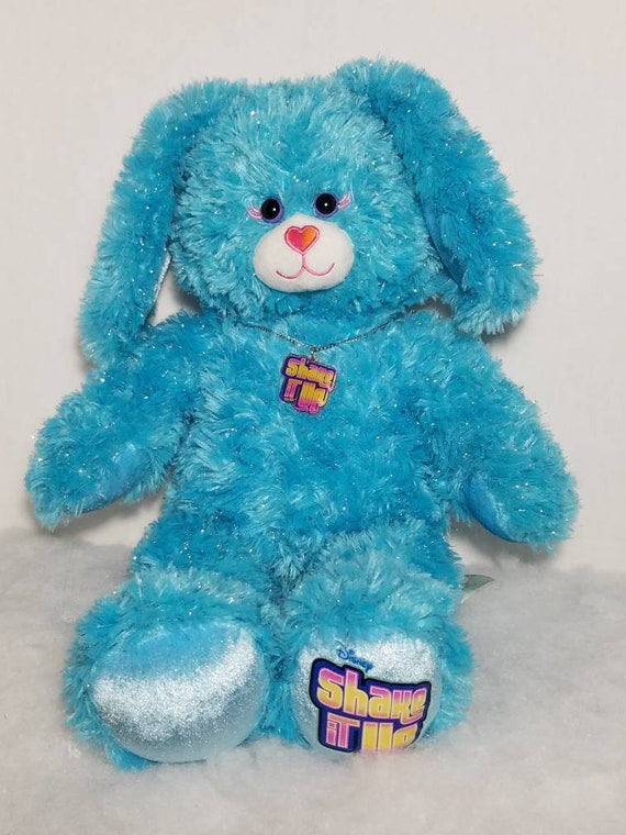 "18/"" Build a Bear Workshop Disney Shake it Up Sparkle Blue Bunny Rabbit Plush"