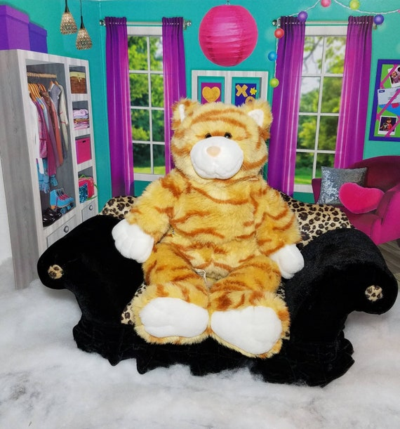 Build-a-Bear Orange-Striped Cat