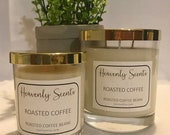 Coffee Scented Luxury Handmade Soy Candle