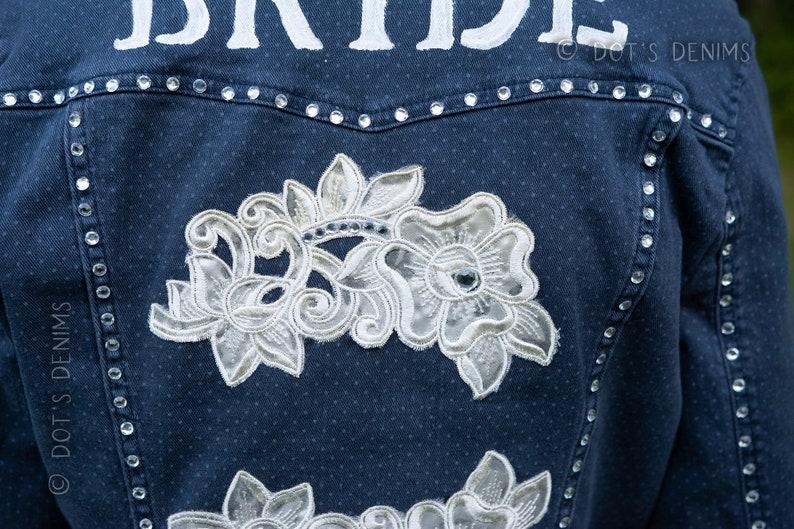 Blingy Bridal Denim Jacket