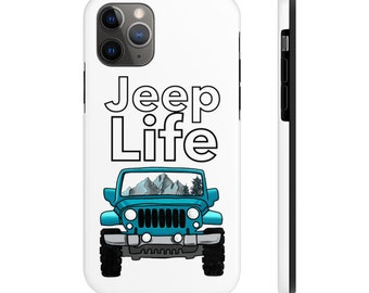 Jeep Quote Girl And Dog iphone case
