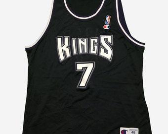 c2107284dff3 Vintage Champion x NBA Sacramento Kings Bobby Hurley Jersey