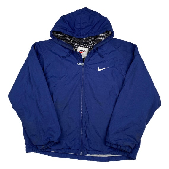 Vintage 90s Nike Hooded Jacket - Mens XL | Vtg 199