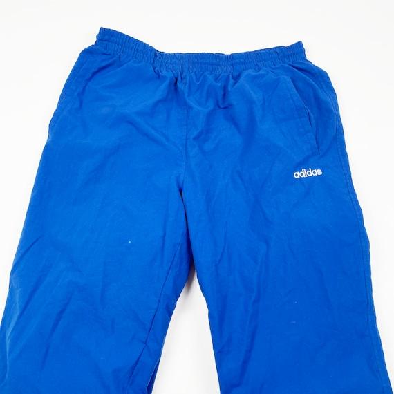 Vintage 90s Adidas Windbreaker Cuffed Track-Pants… - image 2