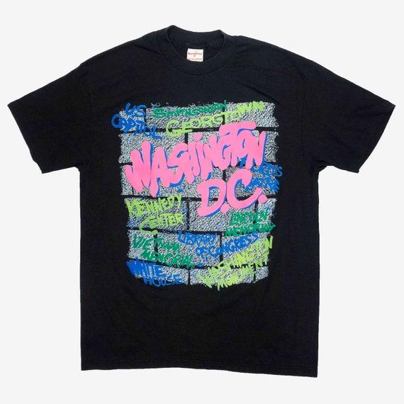 Vintage 90s Washington DC Single-Stitch T Shirt -