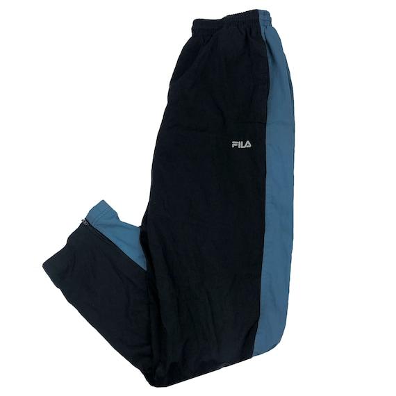 Vintage 90s FILA Windbreaker Track-Pants - Mens Sm