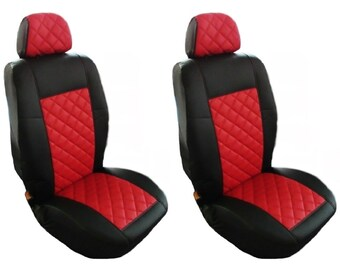 1+1 GREY TGX  Truck Seat Covers 2 pieces MAN TGA TGM TGS TGL