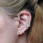 Fantasy on Belle ear cuff, wire wrapped Belle earring, Beauty and the Beast, Belle ear wrap, wire ear cuff, leaf ear cuff, Cosplay jewelry