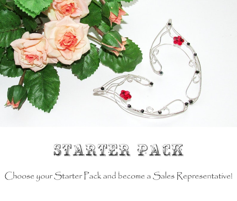 Starter Pack of elven jewelry for sales representatives image 0