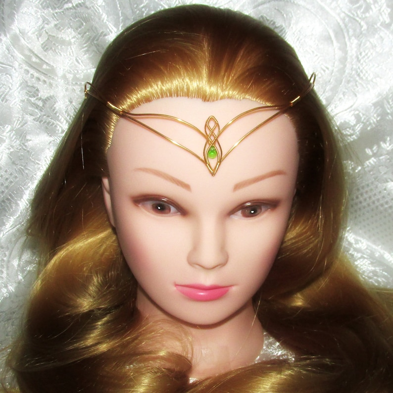 Elven Light Tiara elven tiara elven circlet elven crown image 0