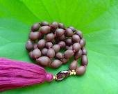 Passionate Abundance Mala - 108 Lotus Beads