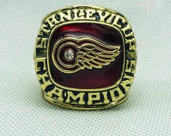 3f661e90778b4 NHL Sport Jewelry Stanley Cup 1997 Detroit Championship Ring Custom Big  Size 11