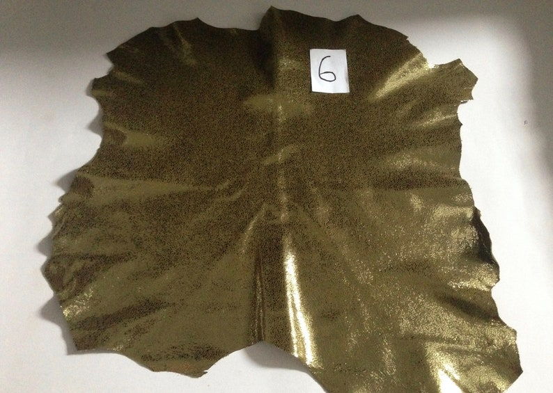 Italian leather Leather Genuine goat leather hide Leather material for sewing 1 mm