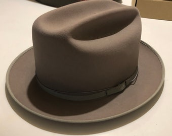 d9ab33ca094be 1940 s- 50s CHAMP Western Hat NOS Wool Felt Size 7
