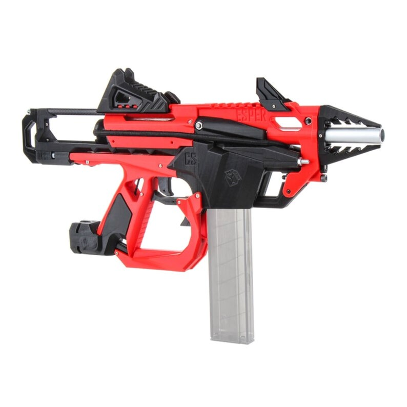 Worker F10555 No.213 DIY Esper Sword Crossbow Blaster Color Red Black