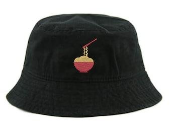 VCKNUCAZ Dessert Ramen Adult Flat-Topped hat Cowboy hat Snapback Cap Adjustable Hats