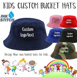 Personalized Navy Butterfly Bucket Hat Bachelorette Party Favors Gifts for Bridesmaids from Bride Custom Embroidered Butterflies Sun Hats