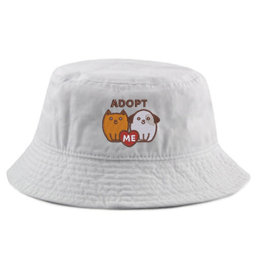Ink Stitch 1500 Adult /& Kids Unisex Hamster Embroidered Summer Cotton Bucket Hats 8 Colors
