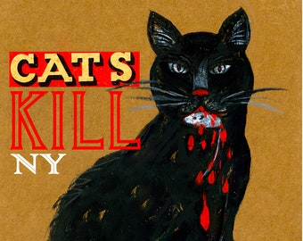CATS KILL poster / Julie Chase ©