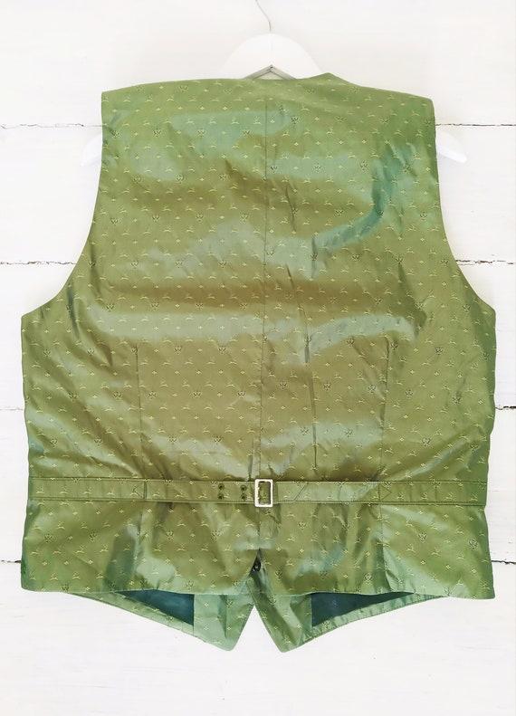 Vintage HABSBURG men's silk vest. Victorian men's… - image 3