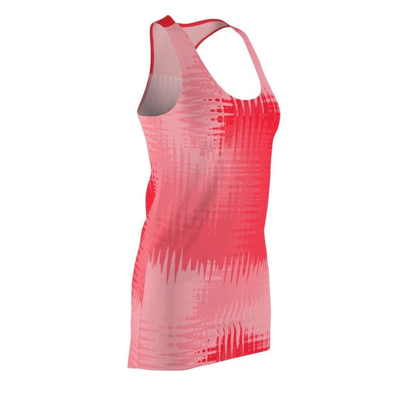 Red Racerback T-Shirt Dress