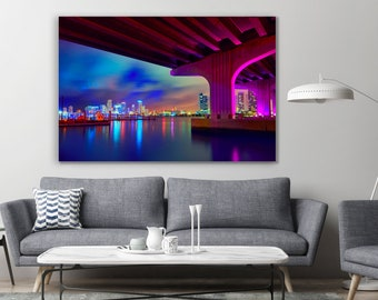 Downtown Miami  Wall Mural Photo Wallpaper GIANT WALL DECOR Paper Poster