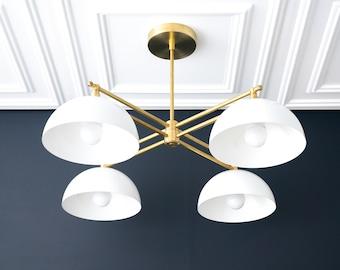 Dome Light - Art Deco Chandelier - Unique Lighting - Art Deco Lighting - Modern Lighting - Farmhouse Lighting - Model No. 6520