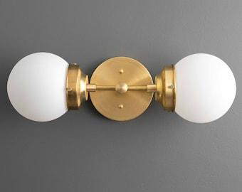 Art Deco Wall Sconce - Modern Vanity - Bathroom Vanity - Geometric Light - Art Deco Lighting - Modern Lighting - Model No. 2599