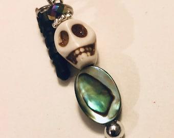 Skull and Stone Dust Plug