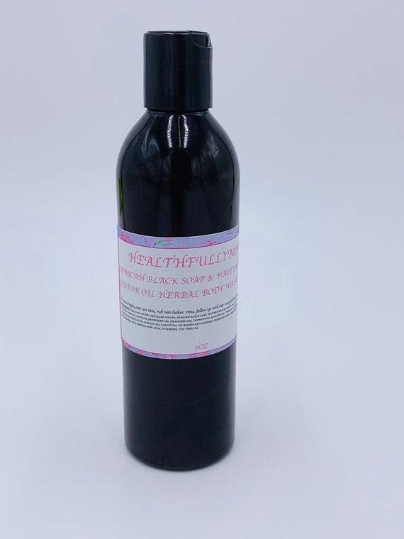 African Black Soap & Haitian Black Castor Oil Herbal Body Wash