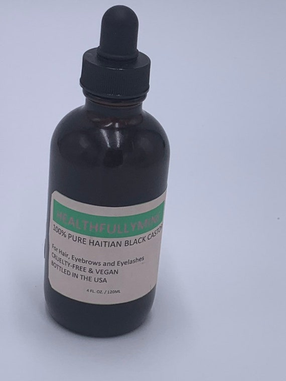 100% Haitian Black Castor oil (HBCO) 4oz
