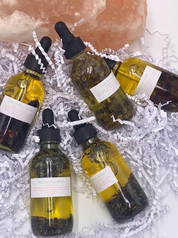 Tea infused face oils