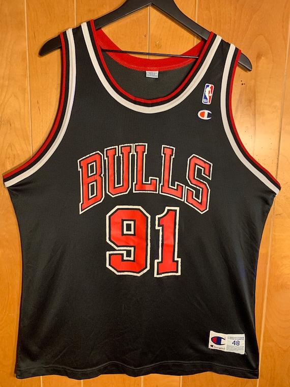 Vintage - Chicago Bulls - Champion Dennis Rodman J