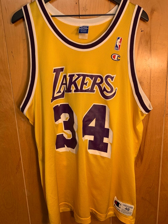 Authentic - Los Angeles Lakers - Shaquille Oneal -