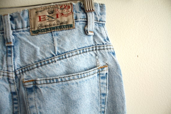 "90s Mexican high waist 26"" jeans vintage 1990s - image 5"