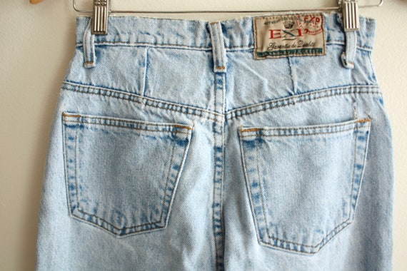 "90s Mexican high waist 26"" jeans vintage 1990s - image 4"