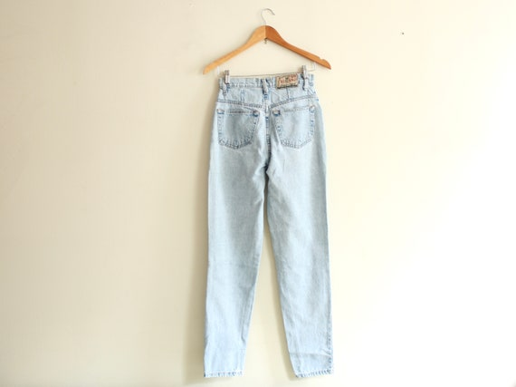 "90s Mexican high waist 26"" jeans vintage 1990s - image 3"