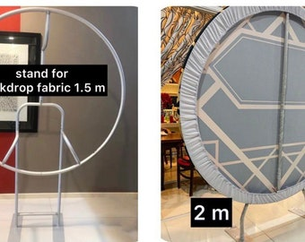 Collapsible iron round stand (for USA only)