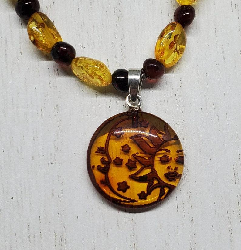 Baltic Amber beads Baltic Amber solstice pendant