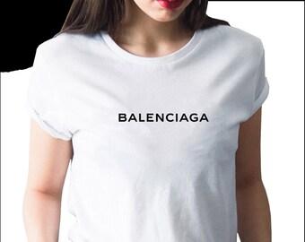 cd817c05 Balenciaga Tshirt, Balenciaga Text Logo Shirt, Balenciaga T-shirt For Women  Men Kids, Unisex Balnciaga Text Shirt, Designer Inspired T-shirt