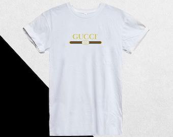 19d9839e Gucci Shirt, Gucci T-shirt, Gucci Tshirt Women Men Kids Girls Boys, Gucci  Belt Logo Shirt Gucci Inspired Design Luxury Designer, Gucci Kid