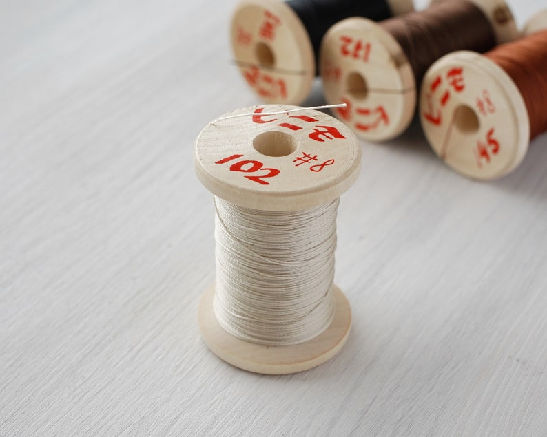 Vinymo MBT #8 0.43mm 100m Spool Japanese multi-bonded polyester thread Additional Colors