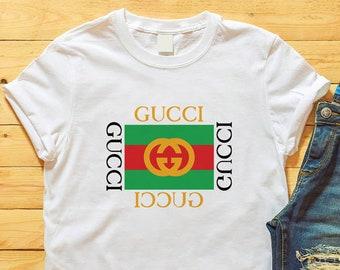 cce519c8891 Gucci Shirt, Gucci Tshirt,Gucci T Shirt, Gucci Inspired T-Shirt, Gucci  Unisex T-Shirt, Gucci Gift