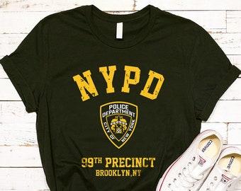 83c65e55 Brooklyn Nine Nine Tshirt, Brooklyn 99 Precinct Shirt, Brooklyn Tshirt,  Brooklyn Nine Nine TV Show, NYPD T Shirt, Movie Tshirt