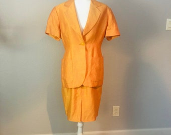 0d795c0fdcdd6 Vintage Fendi 2 Piece Suit Jacket and Skirt