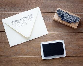 Custom Return Address Stamp / Wooden Return Address Stamp