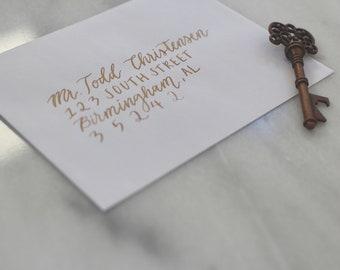 Custom Calligraphy Envelope Addressing / Modern Calligraphy / Wedding Calligraphy / Event Calligraphy
