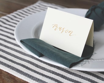 Handwritten Place Cards / Calligraphy Place Cards